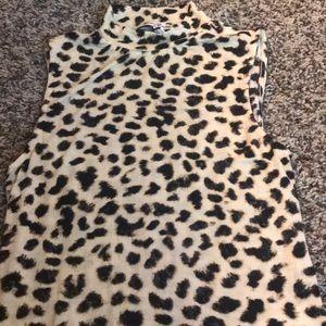 Leopard print body suit